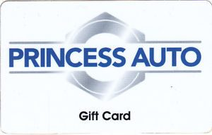 Princess Auto Standard Gift Card (Physical Delivery)
