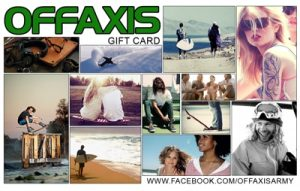 Off Axis Online Gift Card (Electronic Delivery)