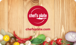 Chef's Plate Online Gift Card (Electronic Delivery)