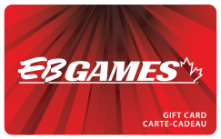 EB Games Standard Gift Card (Physical Delivery)