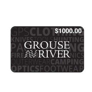 Grouse River Standard Gift Card (Physical Delivery)