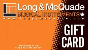 Long & McQuade Online Gift Card (Electronic Delivery)