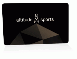 Altitude Sports Standard Gift Card (Physical Delivery)
