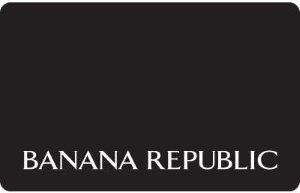 Banana Republic Standard Gift Card (Physical Delivery)