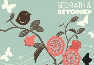 Bed Bath & Beyond Standard Gift Card (Physical Delivery)