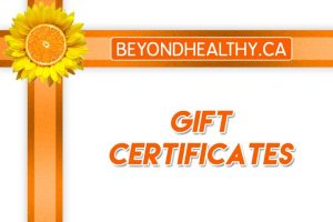BeyondHealthy.ca Online Gift Card (Electronic Delivery)