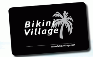 Bikini Village Standard Gift Card (Physical Delivery)