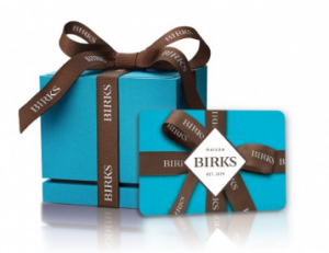 BIRKS Online Gift Card (Electronic Delivery)