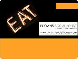 Brown's Socialhouse Online Gift Card (Electronic Delivery)