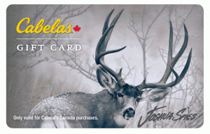 Cabela's Standard Gift Card (Physical Delivery)