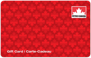 Petro-Canada Standard Gift Card (Physical Delivery)