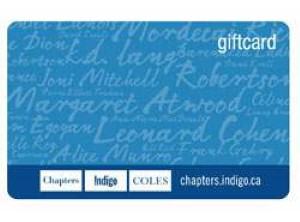 Indigo / Chapters / Coles Standard Gift Card (Physical Delivery)