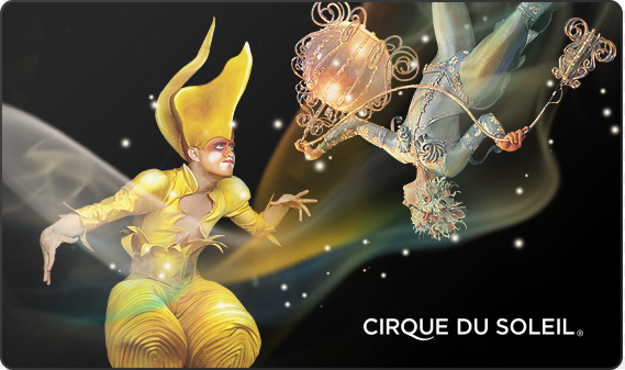 Cirque du Soleil Online Gift Card (Electronic Delivery)