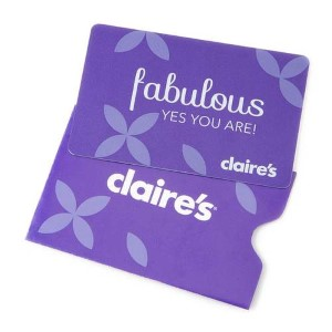 Claire's Online Gift Card (Electronic Delivery)