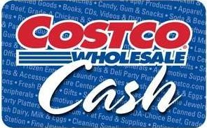Costco Cash Card Standard Gift Card (Physical Delivery)