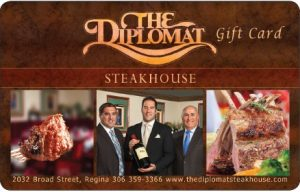 The Diplomat Steakhouse Online Gift Card (Electronic Delivery)