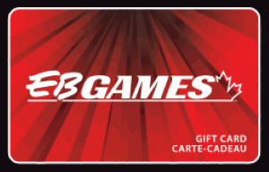 EB Games Online Gift Card (Electronic Delivery)