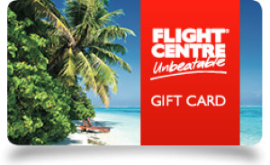 Flight Centre Online Gift Card (Electronic Delivery)