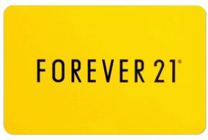 Forever 21 Online Gift Card (Electronic Delivery)