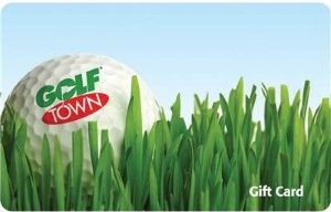 Golf Town Standard Gift Card (Physical Delivery)