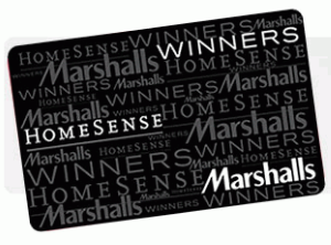 Marshalls Standard Gift Card (Physical Delivery)