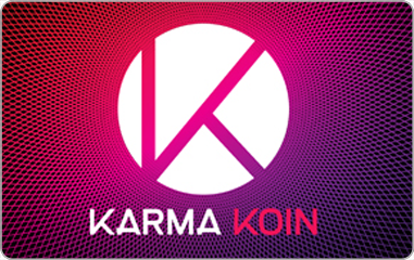 Karma Koin Online Gift Card (Electronic Delivery)