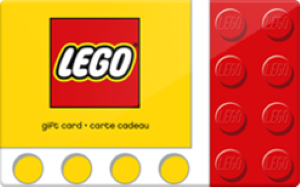 LEGO Standard Gift Card (Physical Delivery)