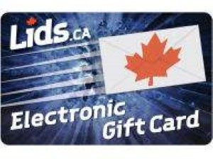 Lids Online Gift Card (Electronic Delivery)