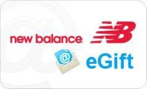 New Balance Online Gift Card (Electronic Delivery)