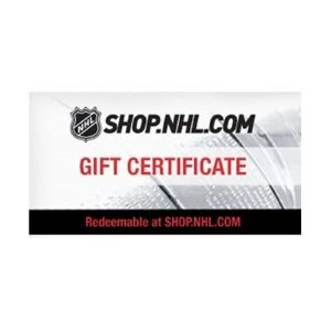 NHL.com Online Gift Card (Electronic Delivery)