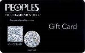 PeoplesJewellers.com Online Gift Card (Electronic Delivery)