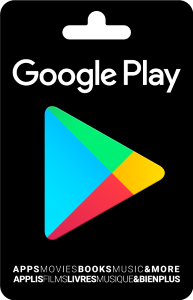 Google Play Standard Gift Card (Physical Delivery)