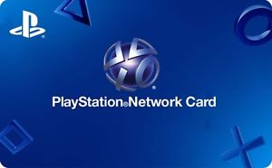 PlayStation Network Card Online Gift Card (Electronic Delivery)
