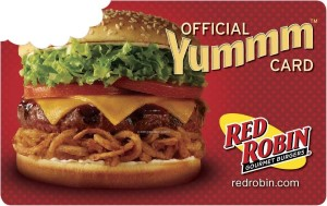 Red Robin Online Gift Card (Electronic Delivery)