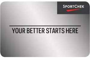 Sport Chek Standard Gift Card (Physical Delivery)