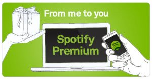Spotify Online Gift Card (Electronic Delivery)