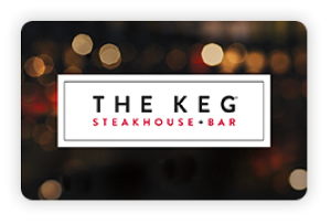 The Keg Steakhouse & Bar Online Gift Card (Electronic Delivery)