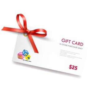 TJ's The Kiddies Store Standard Gift Card (Physical Delivery)