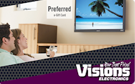 Visions Electronics Online Gift Card (Electronic Delivery)