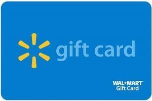 Walmart Standard Gift Card (Physical Delivery)