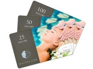 WaySpa Online Gift Card (Electronic Delivery)