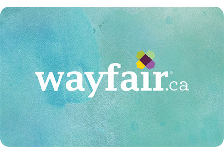 Wayfair.ca Online Gift Card (Electronic Delivery)