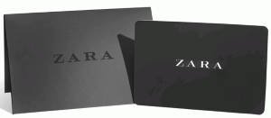 Zara Online Gift Card (Electronic Delivery)