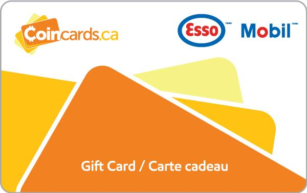 Esso And Mobil Gift Card